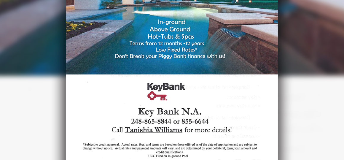 Financing - Swimming pool loans interest rates ...