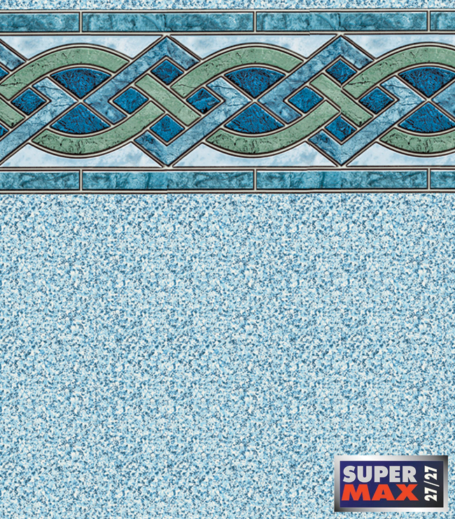 Marble Inlay / Crystal - 27/27 Mil SuperMax™