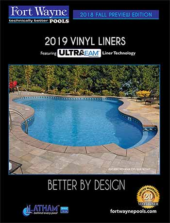 Fort Wayne Pools Vinyl Liner Brochure 2019