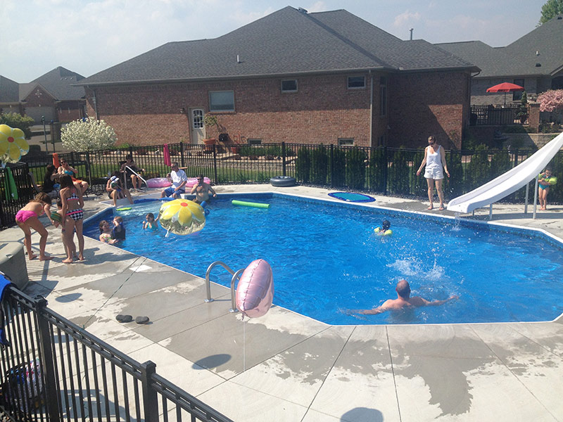 The Metzger Family Swimming Pool